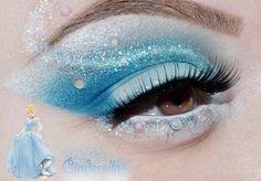 Fun Cinderella makeup
