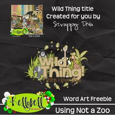 Running with my Camera!: Where the WIld Things Are...New from Kellybell Designs.