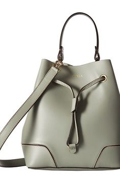 Furla Stacy Small Drawstring (Agave) Drawstring Handbags - Furla, Stacy Small Drawstring, BJQ3FLE00Z, Bags and Luggage Handbag Drawstring, Drawstring, Handbag, Bags and Luggage, Gift - Outfit Ideas And Street Style 2017