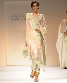 Payal Singhal Blush Pakistani Style Mukesh Suit