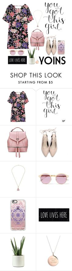 """""""Yoins"""" by crybabyallie ❤ liked on Polyvore featuring Sheriff&Cherry, Casetify and Kate Spade"""