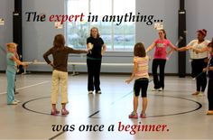 Baton Twirling - The expert in anything... was once a beginner.