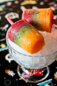 Politos de frutas tricolor. Laguinda Florinda