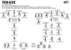 Karate Moves Step By Step For Kids Taekwondo White...