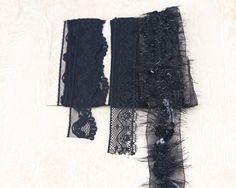 Black Lace Trim Variety Pack of 3 by felinusfabrics on Etsy