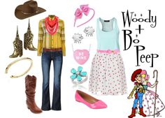 """""""Woody and Bo Peep"""" by alsni ❤ liked on Polyvore"""