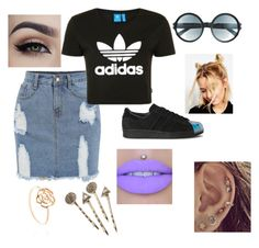 adidas. by dabbsrachel on Polyvore featuring polyvore, fashion, style, Topshop, adidas Originals, ASOS, Tom Ford, Red Camel and clothing