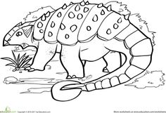 Dig into Dinosaurs! 15 Dino Coloring Pages