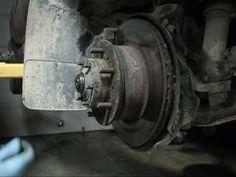Toyota Truck Axle Install