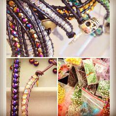 Pilgrim Jewellery, Accessories Jewellery, Premier Jewelry, Arm Party, Czech Glass, Dyi, Skull, Jewelry Making, Craft Ideas