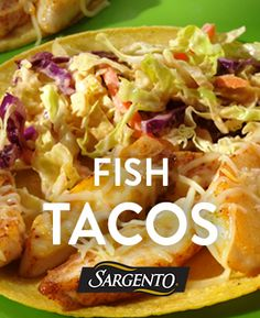 Refresh Taco Tuesday with pan-fried fish tacos topped with crunchy slaw and our Four Cheese Mexican Cheese.