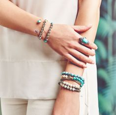 #Bridesmaid #Jewelry #chloeandisabel #blue #beach #wedding #bridesmaidgift