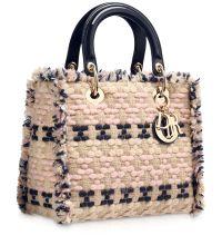 Dior Tweed Lady Dior Bag  #dior #handbags