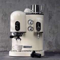 Espresso Maker, Espresso Cups, Espresso Machine, Kitchenaid, Kitchen Aid Artisan, Cafetiere Expresso, Coffee Shop, Coffee Maker, Domestic Appliances