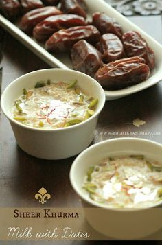 Sheer Khurma (Milk with Dates) | Festive Vermicelli Kheer  #Indian #Mangalorean #desserts