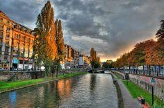 Strasbourg. Parfaite luminosité
