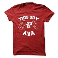 I Love AVA Collection: Valentine version T shirts