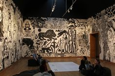 - The Start of the Lion Hunt (1982) by A.R. Penck....