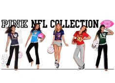 Victoria Secret Pink NFL Collection