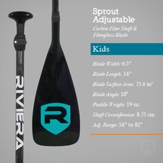 Riviera SPROUT R.6.5 Kids Adjustable SUP Paddle