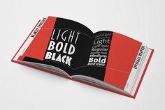 Type & Design Book on Behance