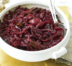 ... with this aromatic cabbage dish. Perfect with boiled Christmas ham