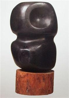 black - sculpture - Yagi Kazuo
