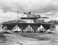 Over 60 Sentinel tanks were built in Australia but they didn't see combat because of the availability of US tanks and lighter British tanks used in New Guinea n 1944-45.