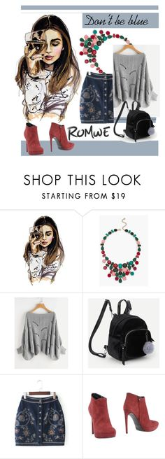 """Don't be blue"" by andrea-pok on Polyvore featuring Talbots and Gianni Marra"