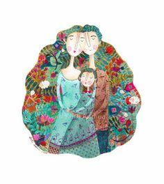 Kürti Andrea #family #illustration