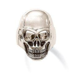 Thomas Sabo Silver Skull Ring
