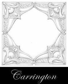 diseño del techo de metal prensado - Carrington