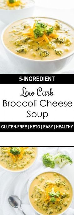 Low Carb Broccoli Cheese Soup!!! - 22 Recipe