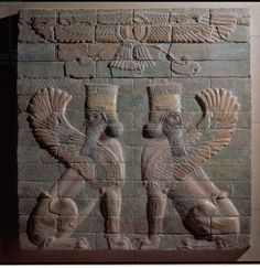 Relief of griffins, Persian, from Susa, Achaemenid Dynasty, c.500 BC (glazed bricks). King of Persia from 521 BC; Persian by birth and bred in the Zoroastrian faith which became state religion; disc behind the griffins is of the God Ahura Mazda, God of Wisdom Ancient Aliens, Ancient Art, Ancient History, Ancient Mesopotamia, Ancient Civilizations, Revolution, Ahura Mazda, Persian Tattoo, King Of Persia