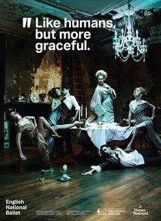 Vivienne Westwood English National Ballet Campaign #dance #quotes
