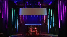 Waveform from Minooka Bible Church in Minooka, IL | Church Stage Design Ideas