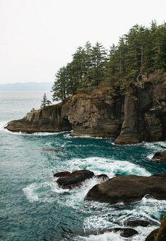 Cape Flattery, Neah Bay, Washington State