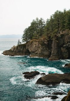 Cape Flattery, Neah Bay, Washington State