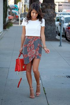revolveclothing skirt nordstrom crop top
