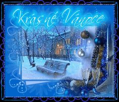 Foto Gif, Christmas And New Year, Czech Republic, Advent, Neon Signs, Bohemia