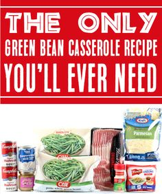 Green Bean Casserole Recipes - Easy Thanksgiving side dish! This delicious twist on your favorite holiday side has some major flavor upgrades... and the bacon will send it over the top! Go grab the recipe and give it a try for the holidays this year! Crock Pot Baked Potatoes, Smashed Potatoes Recipe, Baked Potato Recipes, Greenbean Casserole Recipe, Easy Casserole Recipes, Easy Recipes, Side Dish Recipes, Side Dishes, Dinner Recipes