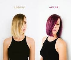 A sultry transformation with a fun twist= courtesy of London Lilac permanent hair color. Purple hair how-to from Turpin emery / designlovefest Vidal Sassoon Hair Color, Permanent Hair Color, Dye My Hair, Hair Transplant, Beautiful Long Hair, Crazy Hair, Purple Hair, Pretty Hairstyles, Hair Looks