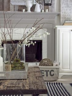 natural elements~ sticks and stones | French Grey