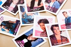 Miss the '90s? Make these '90s Heartthrob Valentines (free printable included).