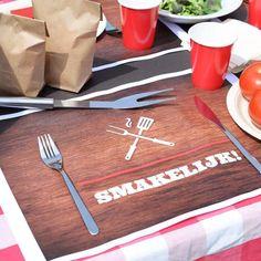 Placemats   BBQ-feest #housewarming #tuinfeest #garden #party #instuif #BBQ #placemats #tabledeco #summer #Beaublue