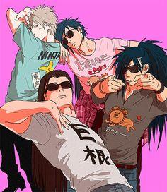 Tobirama, Izuna, Madara and Hashirama
