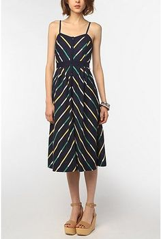 Cooperative Printed Linen Button-Down Midi Dress. $69. Urban Outfitters.