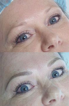 Permanent Make-up By Mary. Natural looking permanent cosmetics! Mircoblading Eyebrows, Blonde Eyebrows, Tweezing Eyebrows, Threading Eyebrows, Eye Brows, Permanent Lipstick, Permanent Makeup Eyebrows, Eyebrow Makeup, Eyeliner Tattoo
