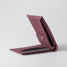 Mens Wallet / Classic Washable Paper Bi-Fold Wallet by SIDONIEYANG