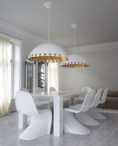 Quito Ceiling Lamp White